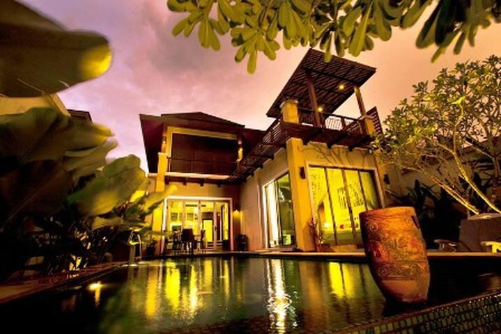 3Bed Private Pool Villa,Near Beach,Clubs,Spa,Golf.