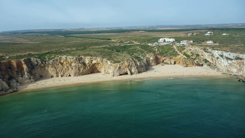Praia do beliche - 3/4 km da Vila de Sagres