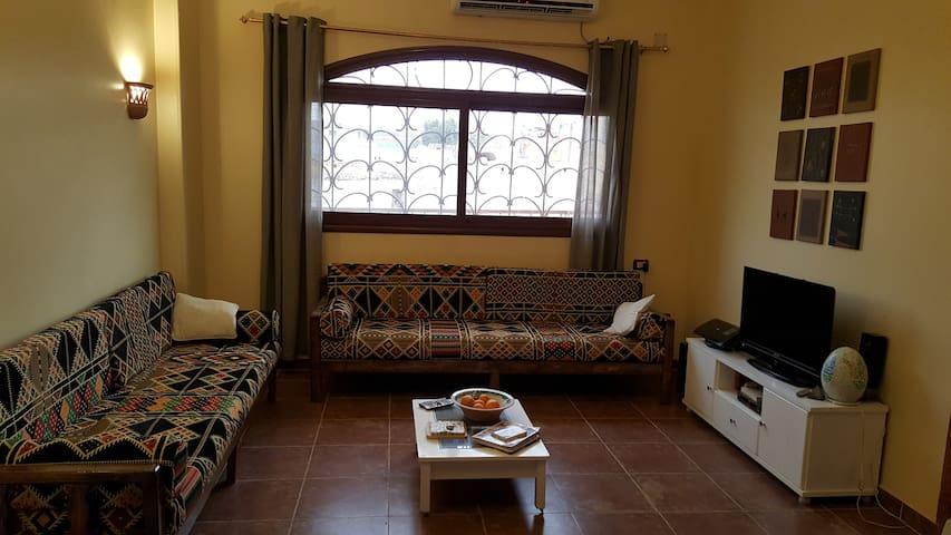 Nubian Guesthouse Habibi, Flat for 6 people, Aswan