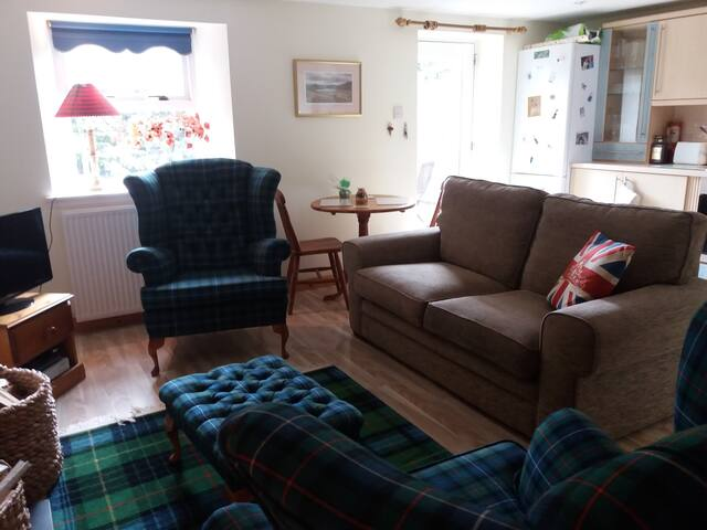 Open plan living/dining/kitchen area on the ground floor