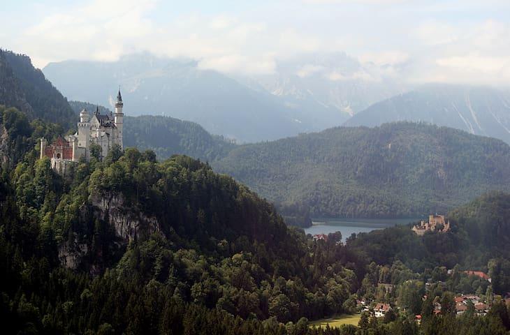 2 BR-apartment / Garmisch 20 km - Unterammergau - Apartamento