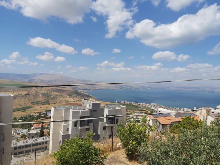 Apartment on the Sea of ​​Galilee