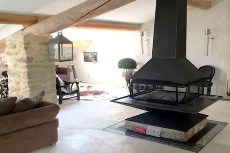 Bergerie Provençale face au Ventoux - Savoillan - Haus