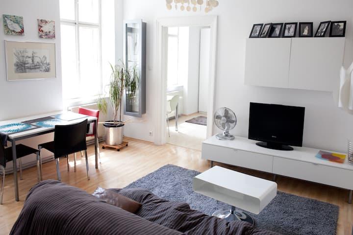 quiet & sunny city apartment at Prater