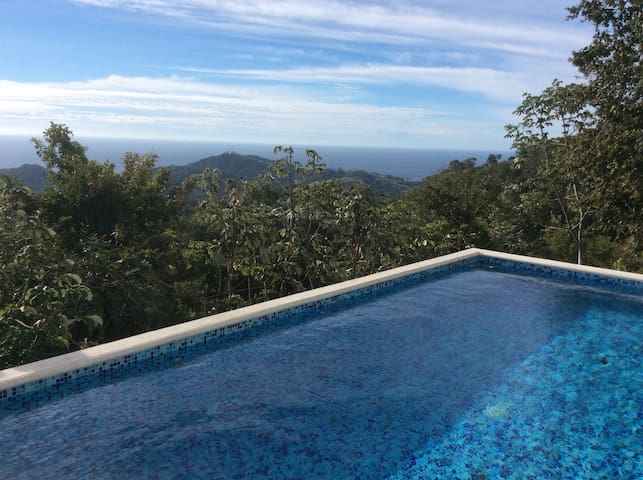Amazing views of ocean and hills - Playa Carrillo - Rumah