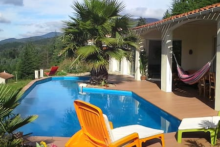 GARDELOUP with pool and great view - Olargues