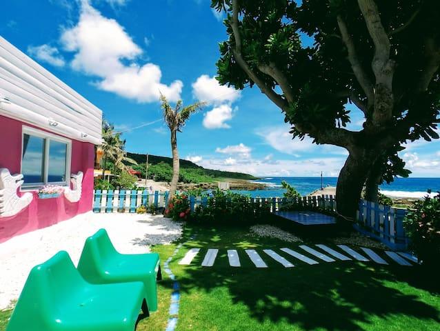 湾境海边小屋。双人海景房「叁」