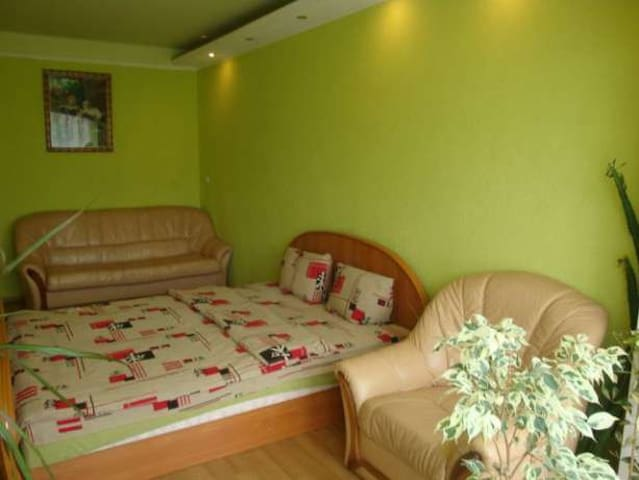 Two-bedroom apartment near IEC - Kiev