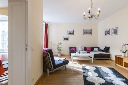 nice room in multiculti flat share - Berlin - Appartement