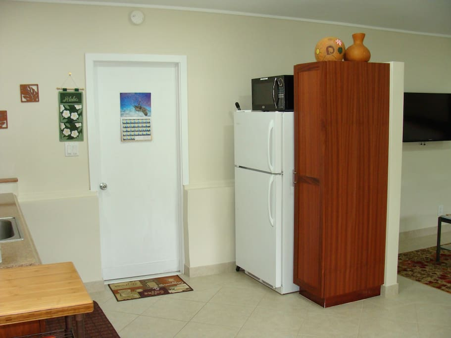 The Fridge and Microwave