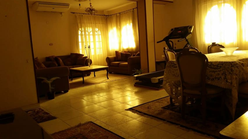 A relaxed big home in Ma'adi, Degla - Maadi