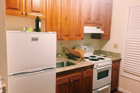 Renovated studio walking distance to downtown - Greenwich - Byt