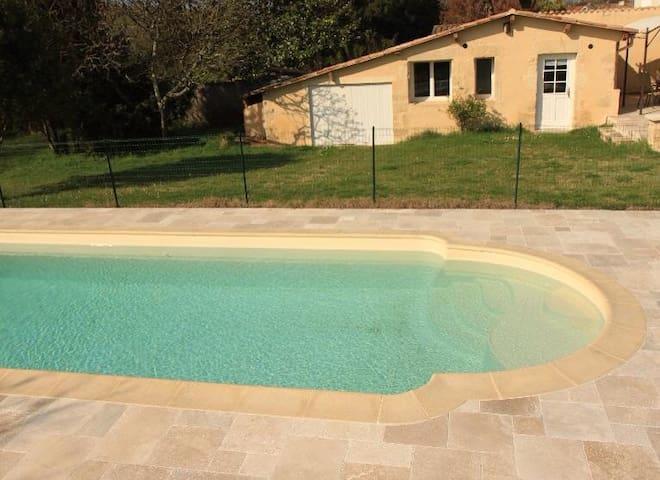 Petite maison charme, sud Bordeaux - Langon