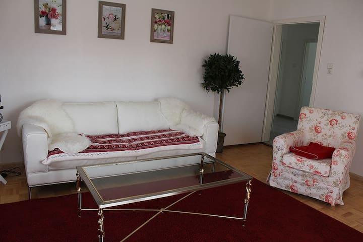 3-Zimmer Ferienwohnung am Elzdamm - Emmendingen - Lägenhet