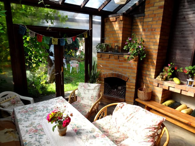 Homestay with patio in picturesque Sigulda - Sigulda