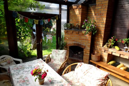 Homestay with patio in picturesque Sigulda - Sigulda - Rumah