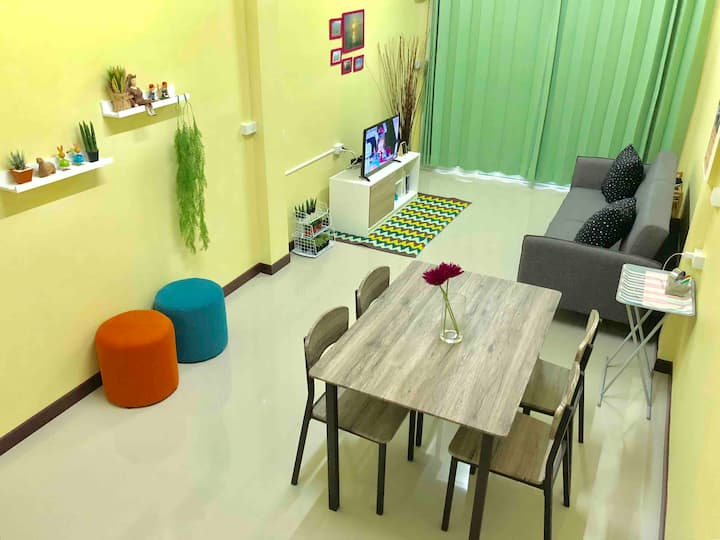 Private nice home for 1-3people near Khaosan road