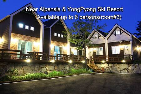 Villa near YongPyong & Alpensia Ski Resort #3 - Pyeongchang-gun - Townhouse