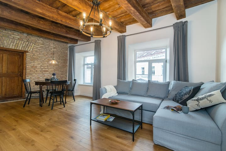 Vilnius Old Town Uzupis Apartment by URBAN RENT