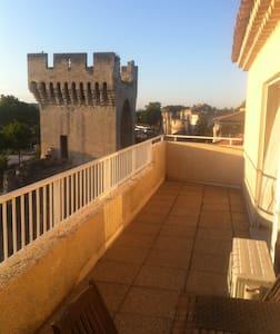 Appartement terrasse vue sur les remparts - 阿维尼翁