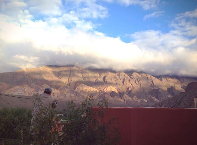 Casa con hermosa vista de Tilcara 1 - Tilcara  - Dom