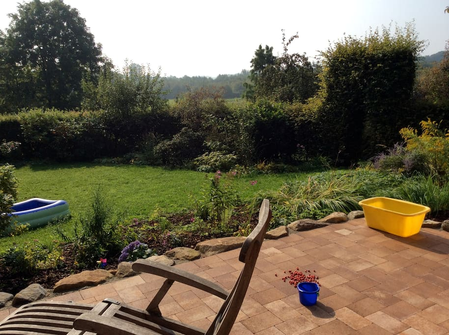 Noch mehr Garten und Terrasse