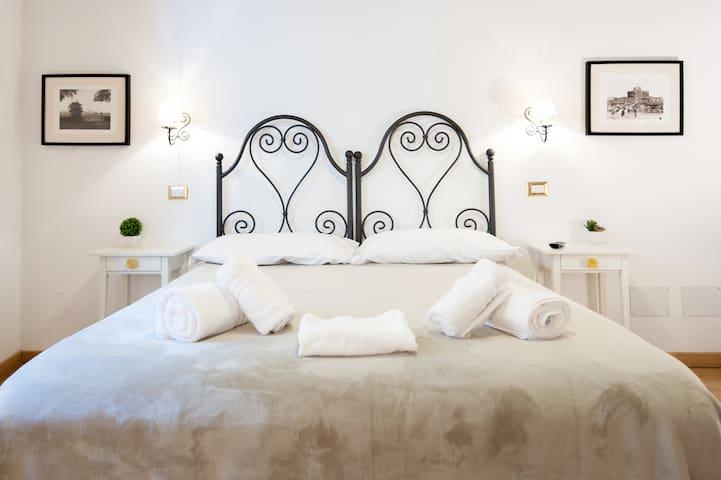 un charmant petit appartement au coeur de la Rome