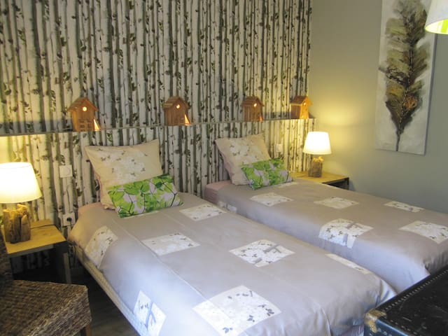 chambre TRISTAN - Taupont - Bed & Breakfast