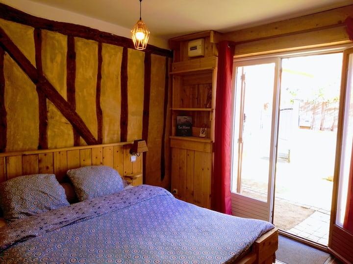 Studio de charme proche Vieux Mans