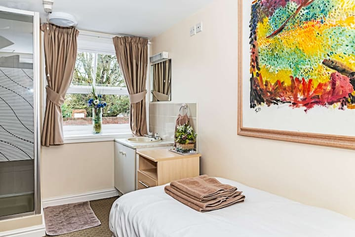 Stunning Single Room at the Dog Inn Whittington