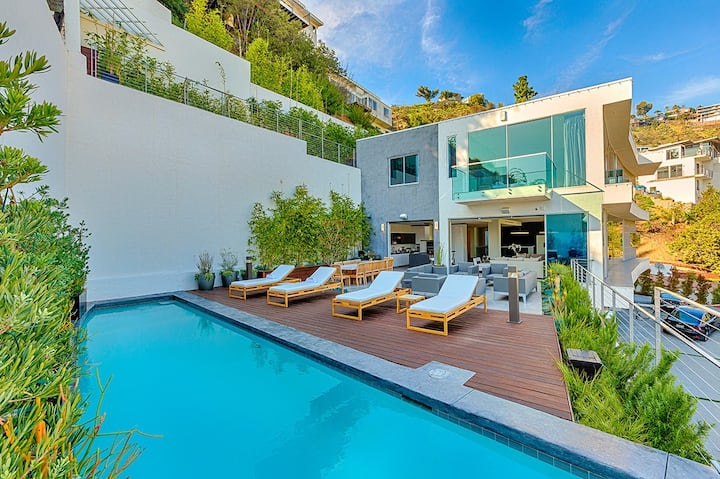 Hollywood Hills Estate