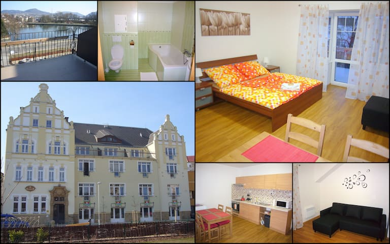Czech Switzerland Castle Apartment - Děčín - Daire