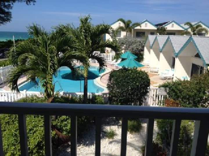 Gulf View Coconuts - perfectly located beach view condo on AMI
