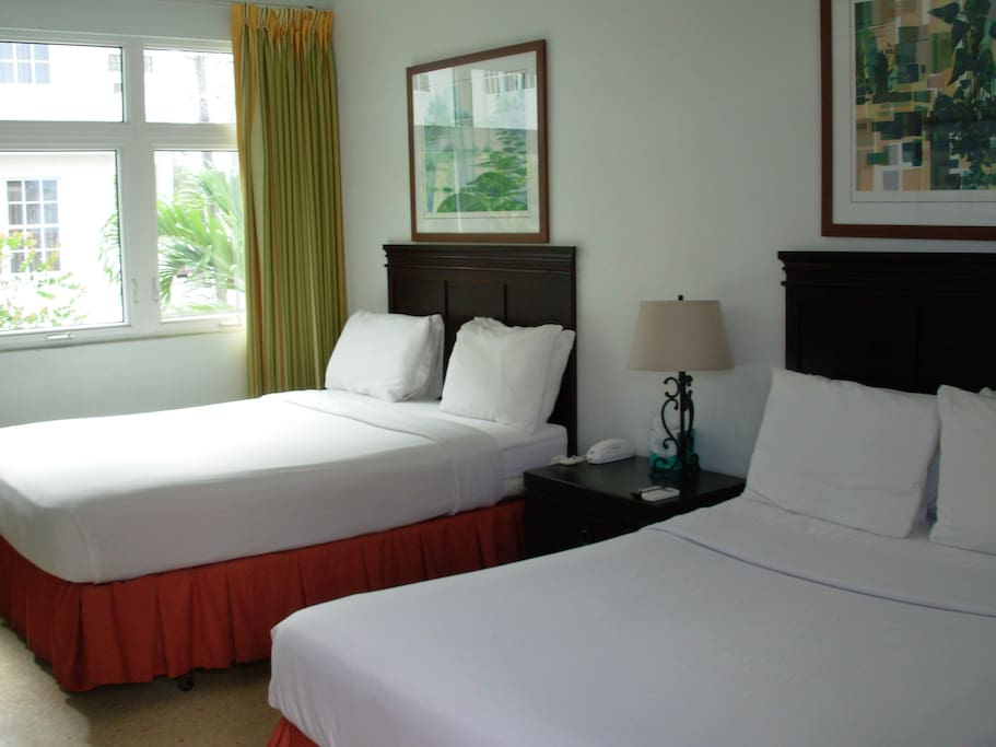 Great  and clean double bed rooms!