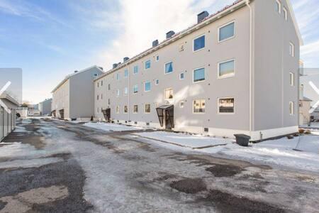 Sjarmerende flott blokk leilighet - Lillestrøm - Lejlighed