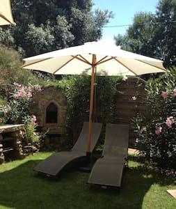 Au calme avec jardin privé, plage de Cupabia à 5mn - Serra-di-Ferro