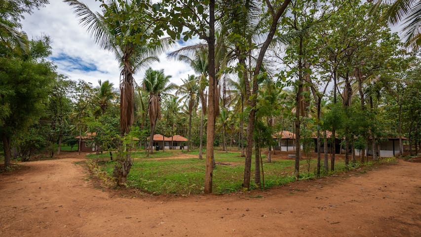 Beyondurban Farmstay near Bengaluru (Group stay)