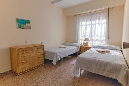 Doble Room, near New Center and bus Station; Wifi - València