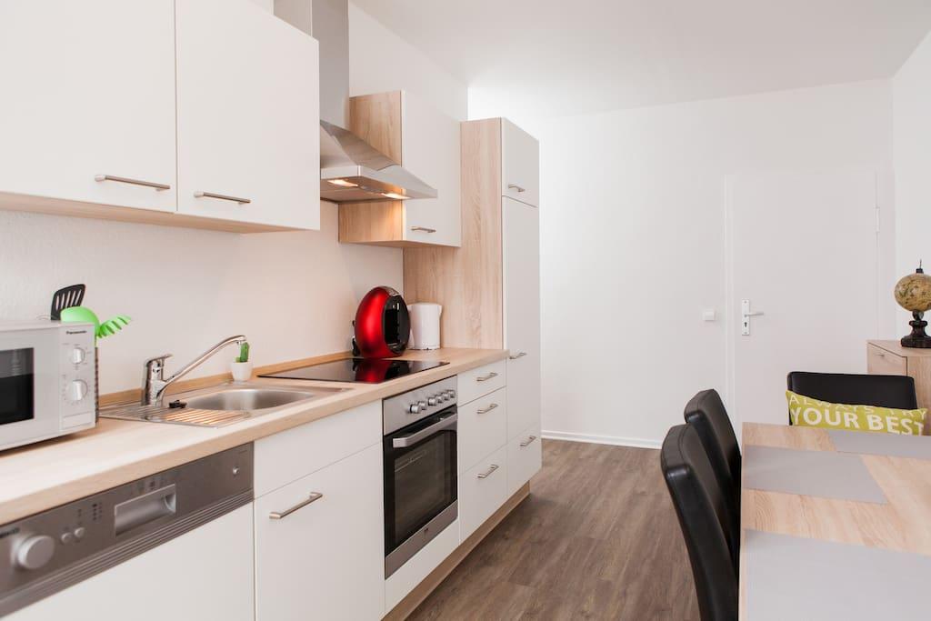 Küche/Essbereich Whg. 1