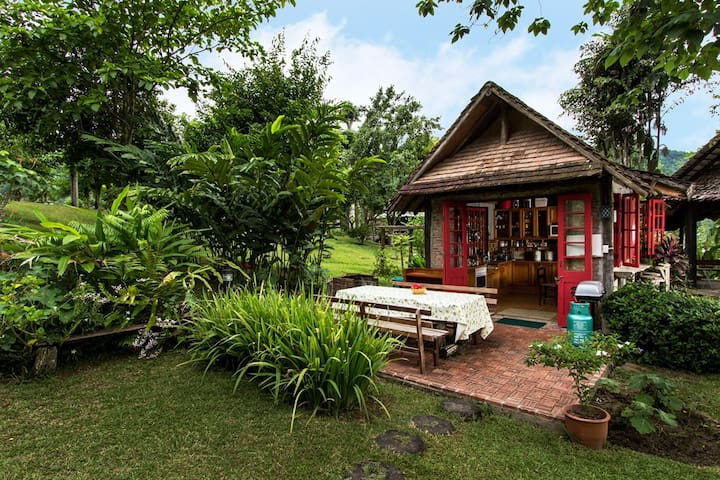 Barn House with Mountain View - Chiang Mai - Bed & Breakfast