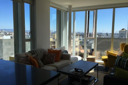 Bright, Urban apt in SOMA with Spectacular Views - San Francisco - Apartment