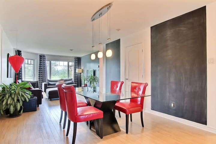 Condo with a beautiful view - Brossard - Apartment