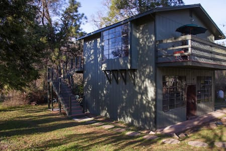 The Artist Loft In The Gold Country - Applegate - Cabin