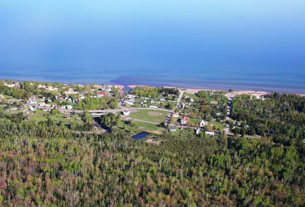An aerial view of Eagle River (Thank you Neil Harri!)
