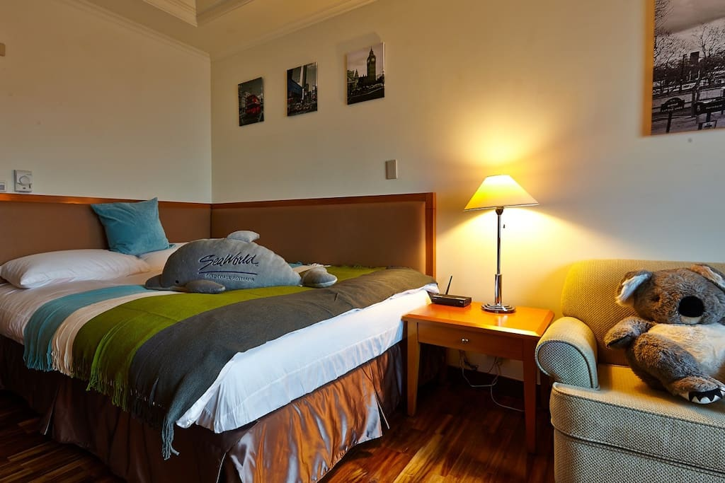 舒適、溫馨、乾淨的客房,要給你最舒適溫暖的住房感受。