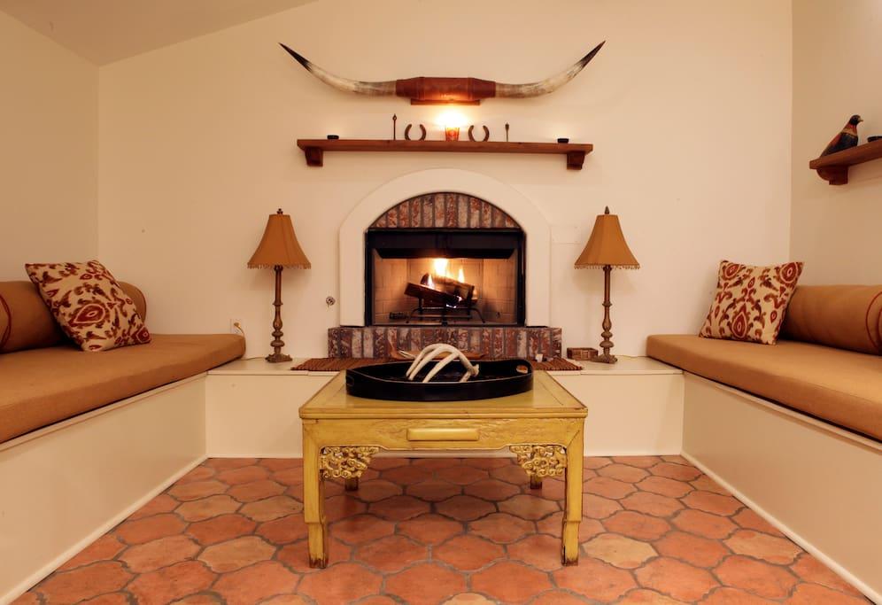 Cozy kitchen space