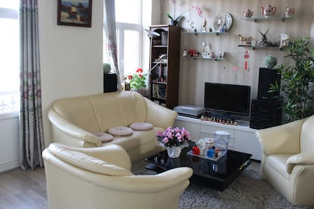 Cosy big room with perfect location - Koekelberg - Daire