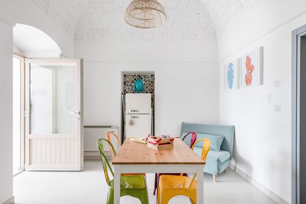 La tradizione dei trulli incontra l'eleganza e il design della luxury suite