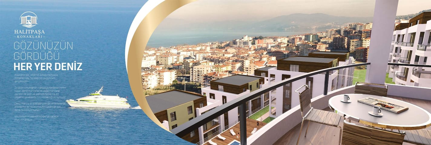 stunning view, modern room with breakfast - Mudanya - Pis