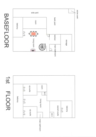The house plan